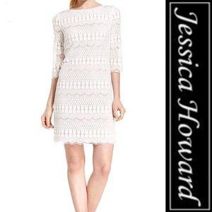 Jessica Howard NAVY Lace Dress